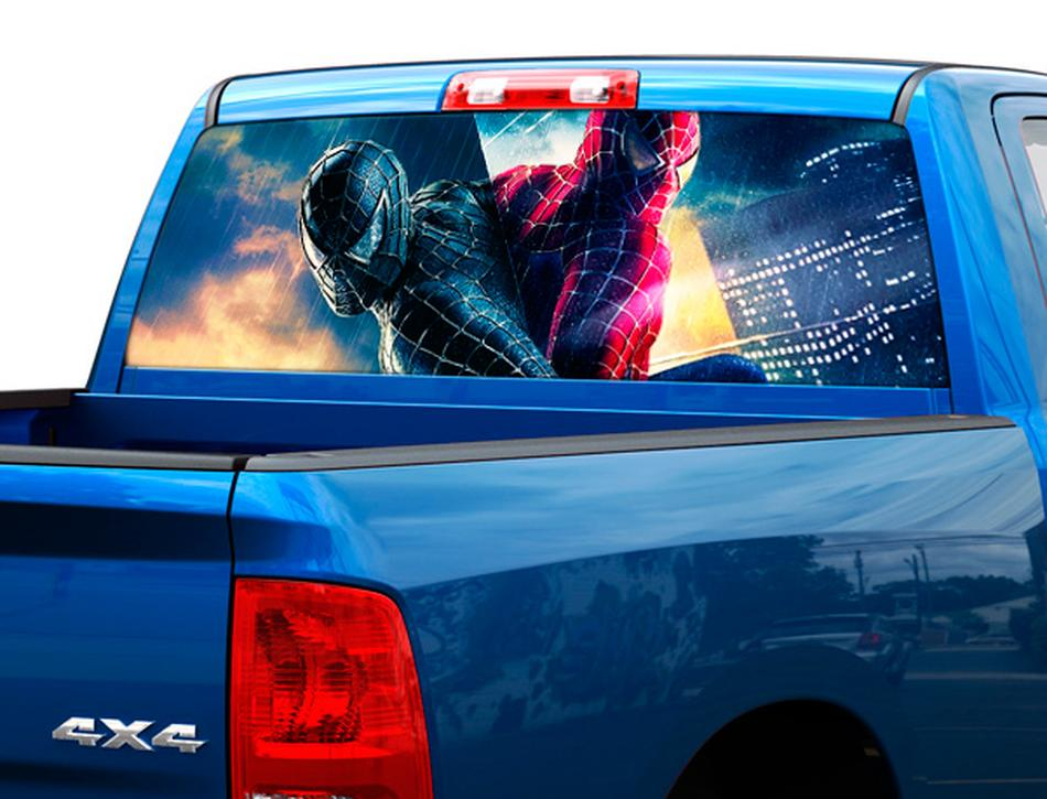 Graphics For Semi Truck Rear Window Graphics Wwwgraphicsbuzzcom - Rear window hunting decals for trucksgeese scenery sticker for rear window hunting decals for trucks