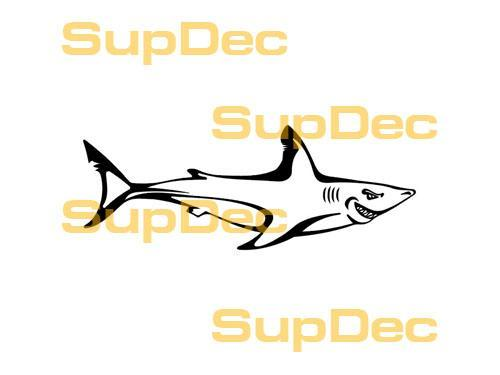 Shark Vinyl Art Wall  Window Bathroom Sticker Decal removable #1