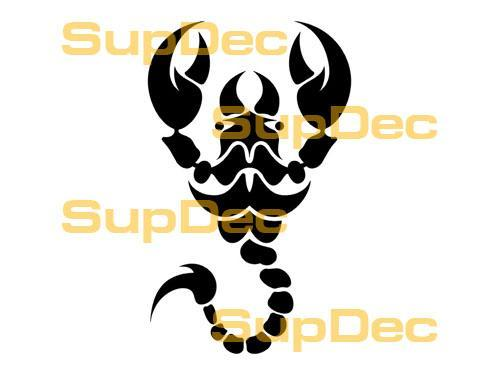 Scorpion Vinyl Art Wall  Window Bathroom Sticker Decal #5