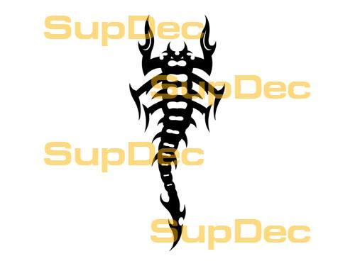 Scorpion Vinyl Art Wall  Window Bathroom Sticker Decal  #7