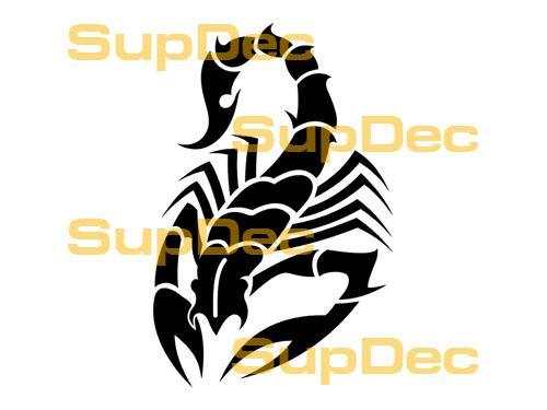 Scorpion Vinyl Art Wall  Window Bathroom Sticker Decal  #15