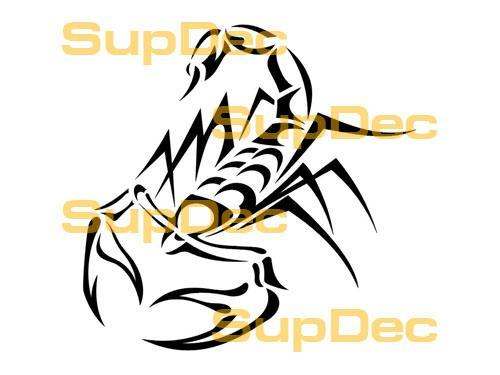 Scorpion Vinyl Art Wall  Window Bathroom Sticker Decal  #17