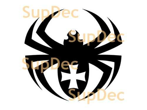 Spider Vinyl Wall  Window Bathroom Sticker Decal removable #2