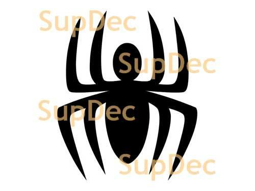 Spider Vinyl Wall  Window Bathroom Sticker Decal removable #3