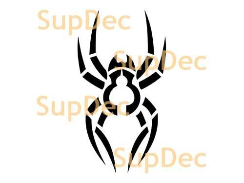 Spider Vinyl Wall  Window Bathroom Sticker Decal removable #4