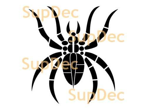 Spider Vinyl Wall  Window Bathroom Sticker Decal removable #9