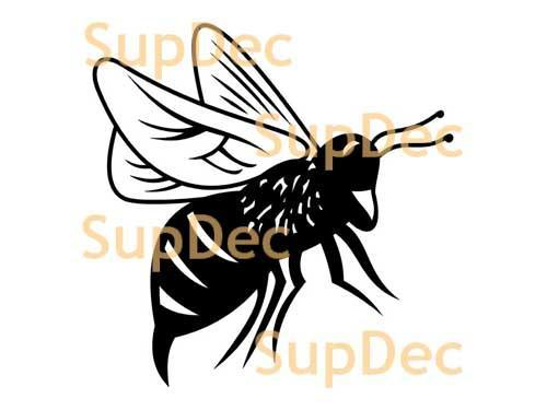 BEE mosquito Vinyl Art Wall  Window Bathroom Sticker Decal #4