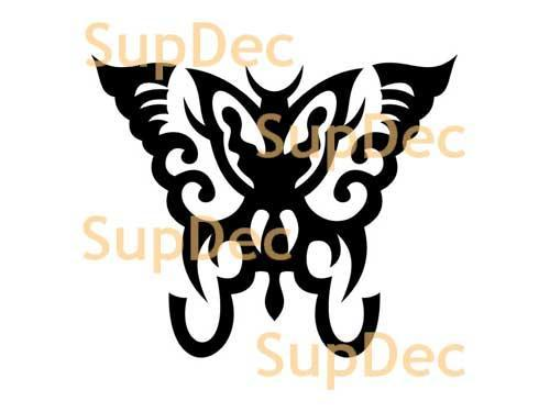 Butterfly Vinyl Art Wall  Window Bathroom Sticker Decal #2