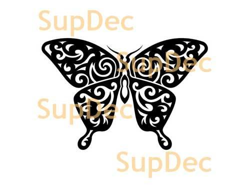 Butterfly Vinyl Art Wall  Window Bathroom Sticker Decal #1