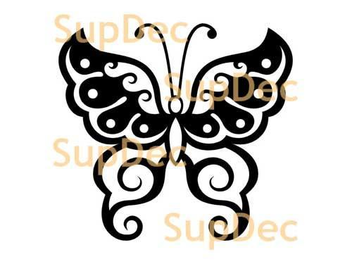 Butterfly Vinyl Art Wall  Window Bathroom Sticker Decal #4