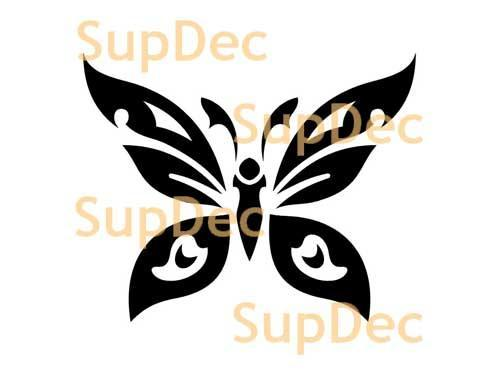 Butterfly Vinyl Art Wall  Window Bathroom Sticker Decal #9