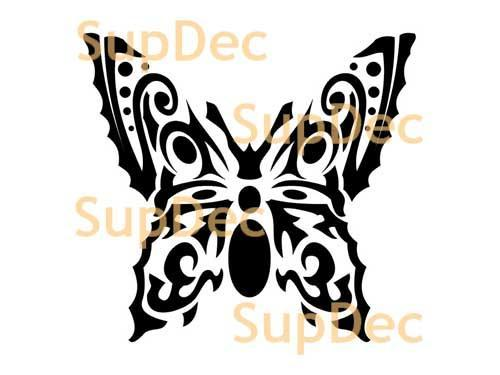Butterfly Vinyl Art Wall  Window Bathroom Sticker Decal  #10