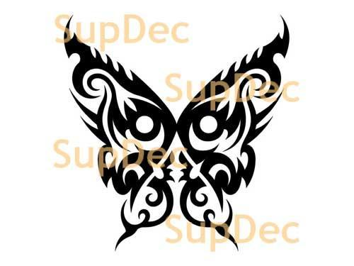 Butterfly Vinyl Art Wall  Window Bathroom Sticker Decal #11