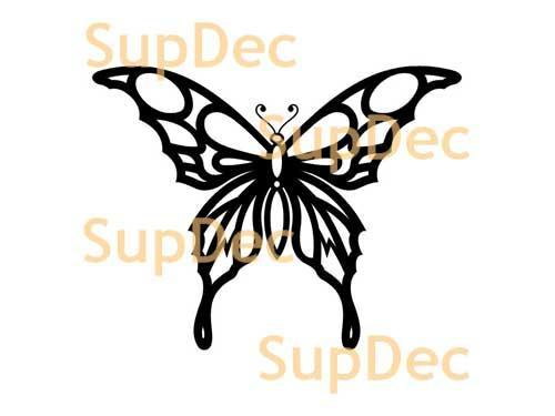 Butterfly Vinyl Art Wall  Window Bathroom Sticker Decal  #18