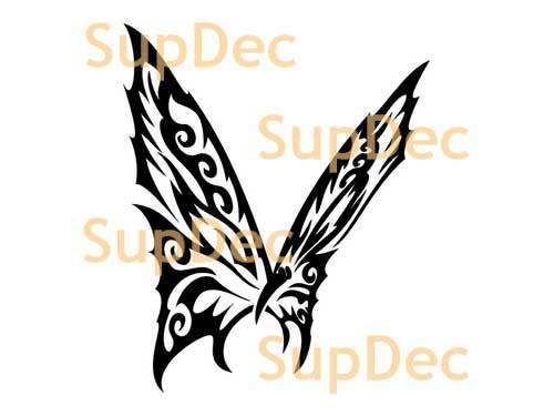 Butterfly Vinyl Art Wall  Window Bathroom Sticker Decal  #29
