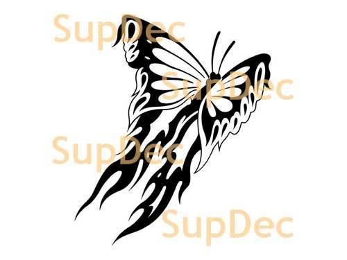 Butterfly Vinyl Art Wall Window Bathroom Sticker Decal # 0