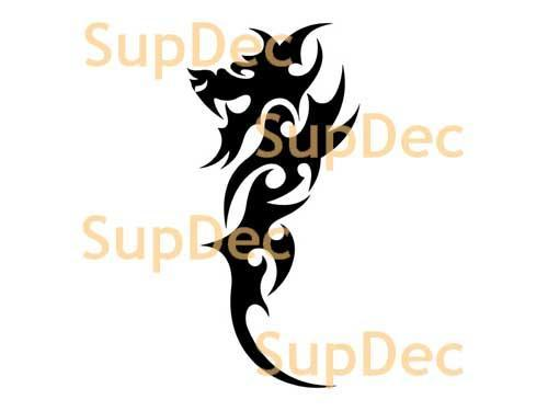 Dragon Vinyl Art Wall  Window Bathroom Sticker Decal #17