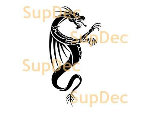 Dragon Vinyl Art Wall  Window Bathroom Sticker Decal #22