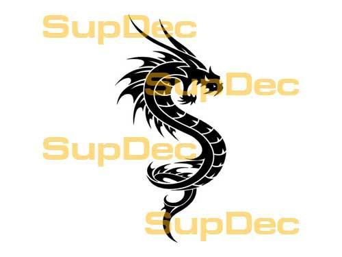 Dragon Vinyl Art Wall  Window Bathroom Sticker Decal #32