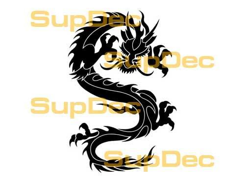 Dragon Vinyl Art Wall  Window Bathroom Sticker Decal #33