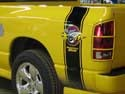 Dodge Ram Rumble Bee Black Decals