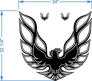 Kit Firebird Trans Am Hood Bird Decal Graphic Pontiac