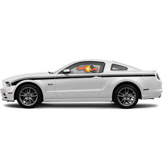 2013 2014 Ford Mustang Javelin Side Accent Strobe Stripes  Vinyl Decal Sticker Graphic