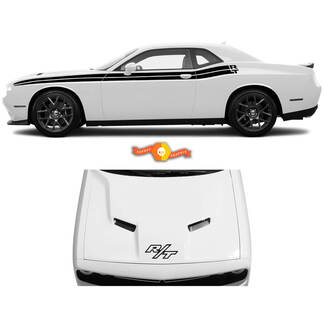 Classic Style Side Stripe Kit for 2008-2021 Dodge Challenger Stripes
