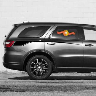 2 voor 2011-2020 Dodge Durango Stripes Propel Zijde Deur Vinyl Grafische sticker Strepen