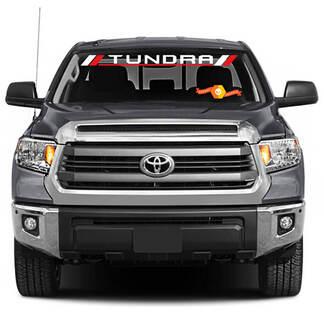 TOYOTA Windschutzscheibe Tundra Racing Development Aufkleber Aufkleber Vinyl