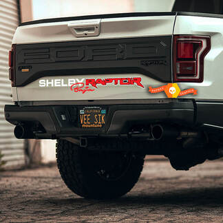 Ford F-150 Raptor Shelby Baja Edition Logo Side Bed Graphics Decal Sticker