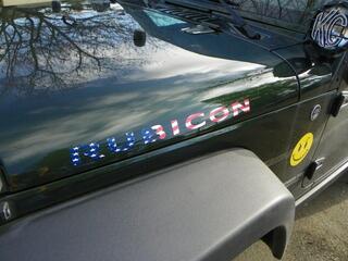 2 Jeep Rubicon American Flag CJ TJ YK JK XJ Vinyl Sticker Decal