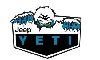 Jeep Wrangler Rubicon Yeti Edition CJ TJ YK JK XJ Vinyl Sticker