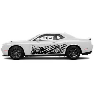 Scat Pack Splash Decals für Dodge Challenger oder Ladegerät Seite Vinylaufkleber Aufkleber