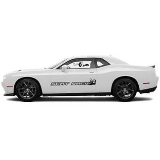 Scat Pack Seite für Dodge Challenger oder Ladegerät Seite Vinylaufkleber Aufkleber