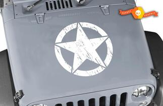 Jeep Wrangler Oscar Mike Oscarmike military STAR kit 8 DECALS