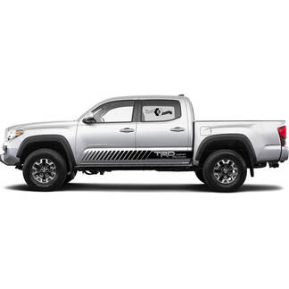 Toyota Tacoma Dash Side TRD Off Road Sport Pro Lines Side Vinyl Decal Sticker Graphics #2