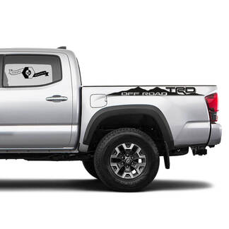TRD Off-Road BedSide Side Vinyl Stickers Decal fit to Toyota Tacoma Tundra all years