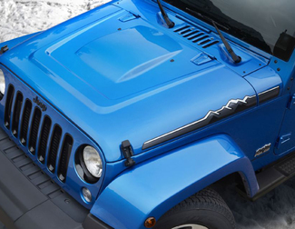 2014 Jeep Wrangler Polar Edition hood Left & Right decal Sticker