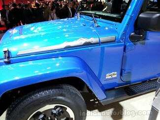 2014 Jeep Wrangler Polar Edition Motorhaube Links Rechts Aufkleber Aufkleber # 2