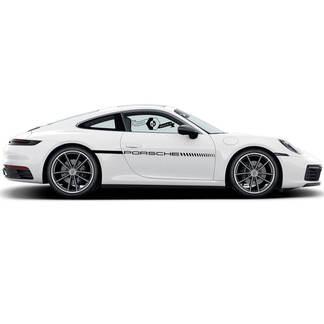 Porsche 911 Carrera Classic Side Stripes Up Doors Kit Decal Sticker