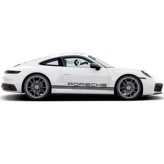 2 Porsche 911 Porsche Carrera Klassische Seitenlinie Streifen Türen Kit Aufkleber Aufkleber