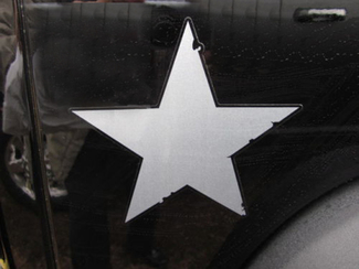 Jeep Wrangler Star Call Of Duty Black Ops Decal Sticker