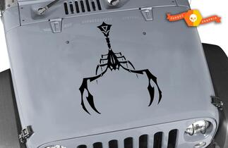 Jeep Scorpion Hood Decal CJ XJ YJ TJ