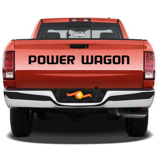 2 POWER WAGON TRUCK Vinyl Aufkleber Aufkleber
