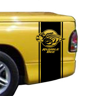 Rumble Bee Bed Stripe Kit Fits Dodge Ram Truck Vinyl Decal Stick
