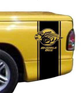 Rumble Bee Bed Stripe Kit Passend für Dodge Ram Truck Vinyl Aufkleber Stick