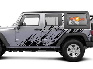 UNIVERSAL Vinyl Splash Decal Ford F150 Dodge Ram Jeep Cherokee