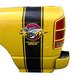 2 Rumble Bee Truck Aufkleber Dodge RAM + Free Bonus Bees