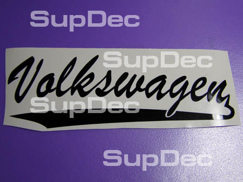 Volkswagen Schriftzug Aufkleber